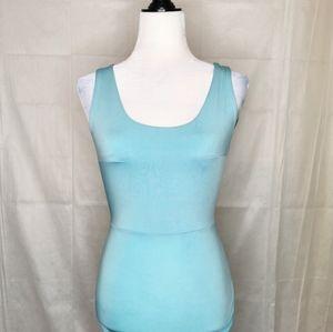 Aqua blue party dress